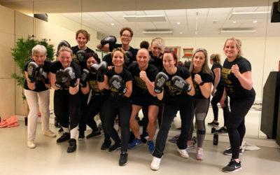 Sportieve verwenmiddag 'Boksen tegen kanker' groot succes