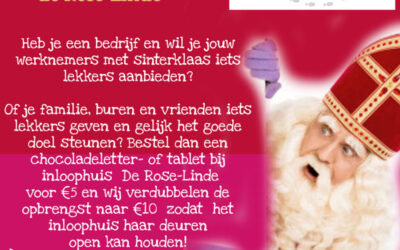 Sinterklaasactie Inloophuis De Rose-Linde